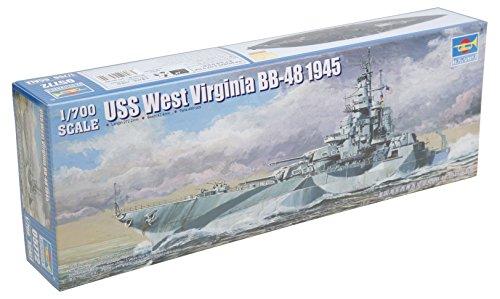 Trumpeter USS West Virginia BB-48 1945 Battleship
