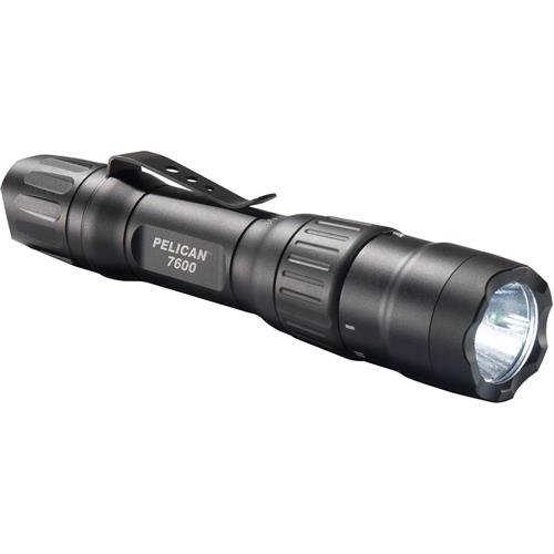 Pelican 7600 Rechargeable Tactical Flashlight (Black) (Equipment Flashlight Police)