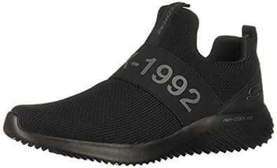 Skechers Mens Bounder Wolfston Wolfston Black Size: 9 Wide