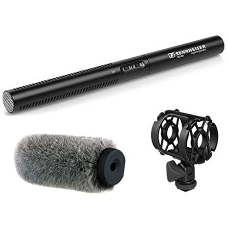 Amazon.com: Sennheiser MKE 600 Shotgun – Micrófono con Auray ...