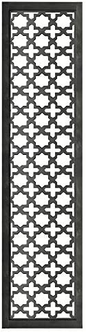 Benjara Rectangular Mango Wood Wall Panel