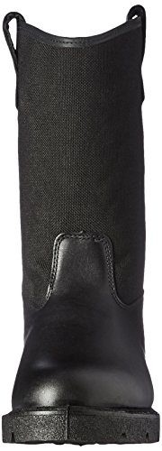 Rocky Men's Men's 10 Inch Pull-on 6300 Work Boot,Black,10.5 XW US by Rocky (Image #4)