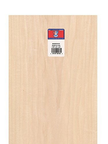 basswood sheets - 1