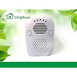 [UPGRADE VERSION] Silk Road Plug-In Electromagnetic Pest Repellent - Home Safety Pest Control Ultrasonic Rodent Repeller That Keeps Away your home From Mice, Spiders, Rodents, Fleas, Bugs