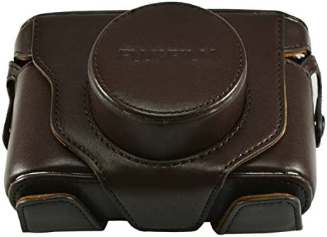 Cleaning cloth First2savvv XJPT-X10-01 noir PU cuir /étui housse appareil photo num/érique pour Fuji Fujifilm FinePix X10 X20