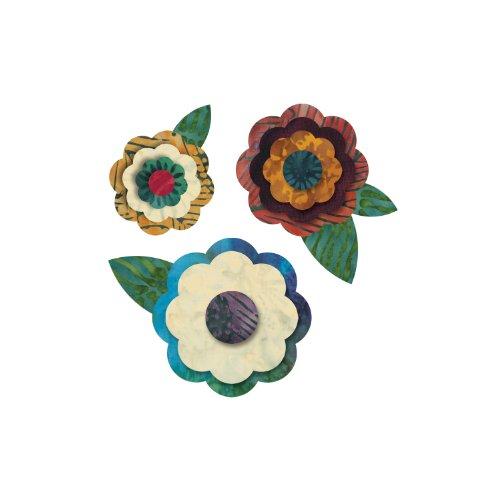 AccuQuilt GO! Fabric Cutting Dies; Rose Of Sharon