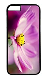 MOKSHOP Adorable cosmos flower Hard Case Protective Shell Cell Phone Cover For Apple Iphone 6 (4.7 Inch) - PC Black