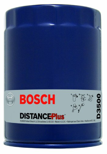 Bosch D3500 Distance Plus High Performance Oil Filter, Pack of 1 (Series D3500)