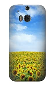 S0232 Sunflower Case Cover for HTC ONE M8