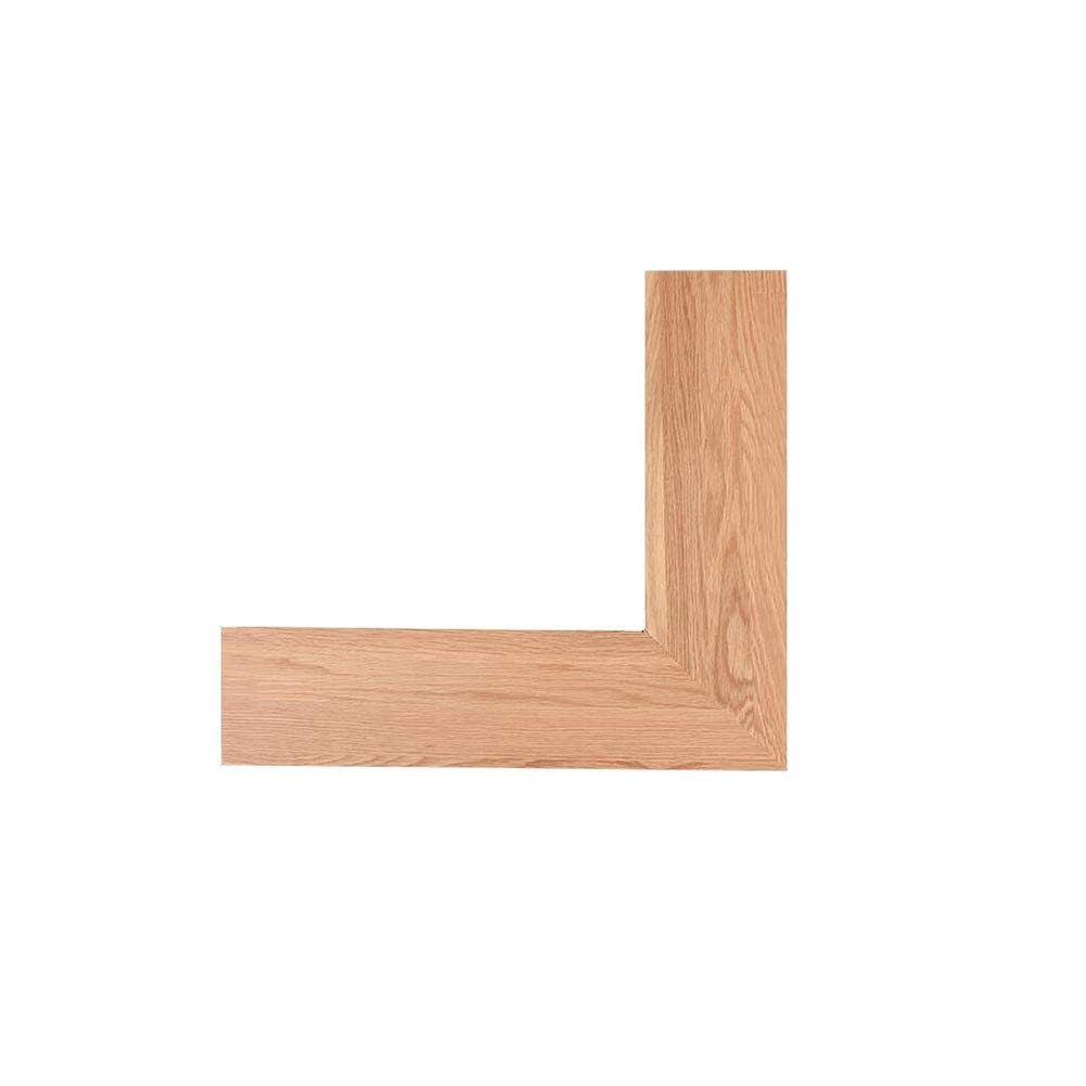 Bookcases Room Corner Shelf/Solid Wood Bathroom Shelf/Living Room Wall Partition/Creative Kitchen Corner Shelf Yixin (Color : A, Size : 4040cm)