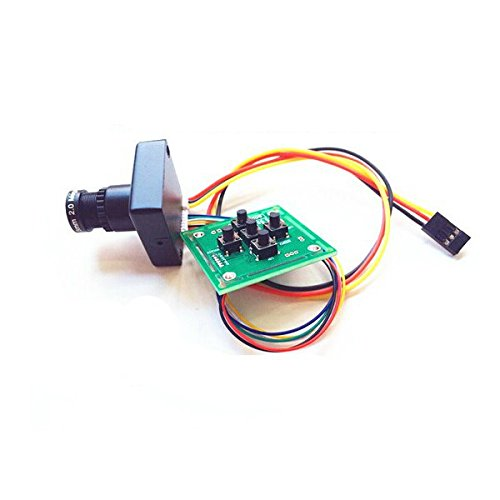 Sony FPV 800TVL CCD Board 3.6mm Lens OSD 130W Mini Camera PAL