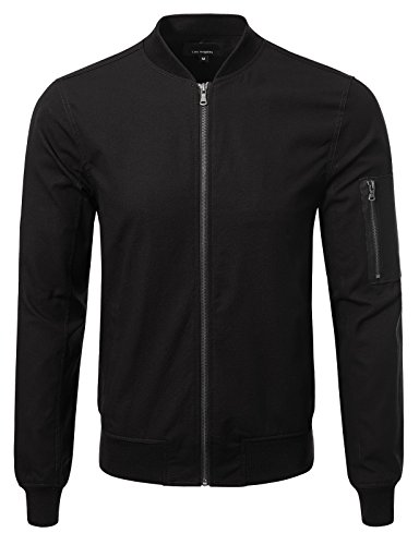 ton Ma-1 Bomber Jacket 2XL Black (Bomber Black Apparel)