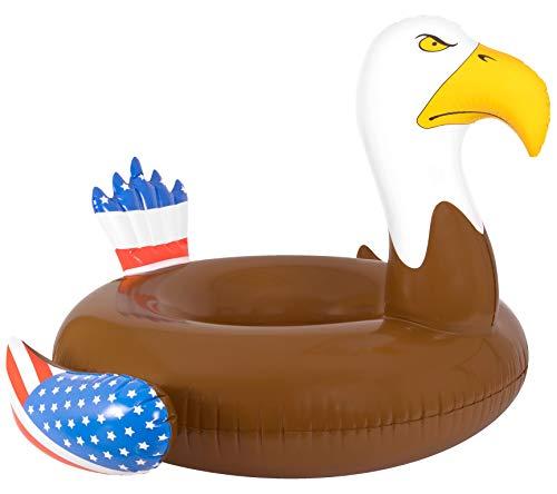 Coconut Float Patriotic Bald Eagle Pool Float ...