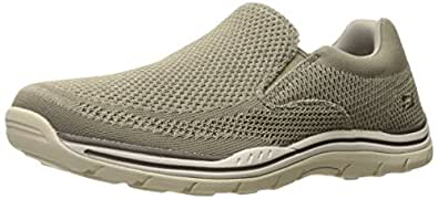 Skechers Mens Expected Gomel Purple Size: 6.5