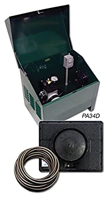 Sentinel 1/4HP Deluxe Pond Aeration System Complete PA34D system with cabinet