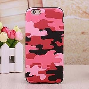 ZXM- mi tpu cover®camouflage contraportada suave para el iphone 6 (colores surtidos)
