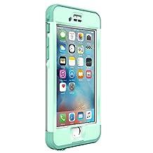 Lifeproof NÜÜD SERIES iPhone 6s ONLY Waterproof Case - Retail Packaging - UNDERTOW (AQUA SAIL BLUE/CLEAR/TAIL SIDE TEAL)