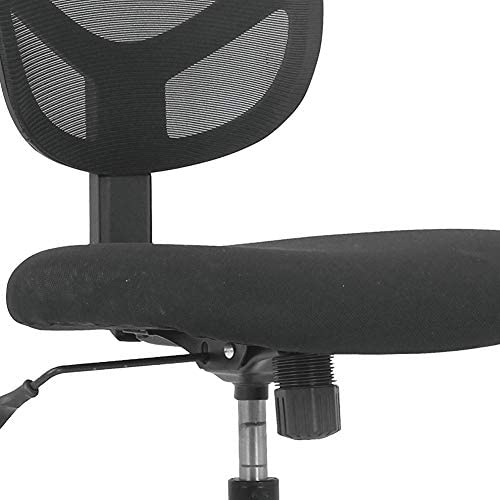 Sadie Swivel Mid Back Mesh Task Chair Without Arms