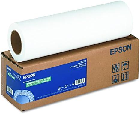 Epson Enhanced Matte Paper - Rollo de papel: Epson: Amazon.es ...