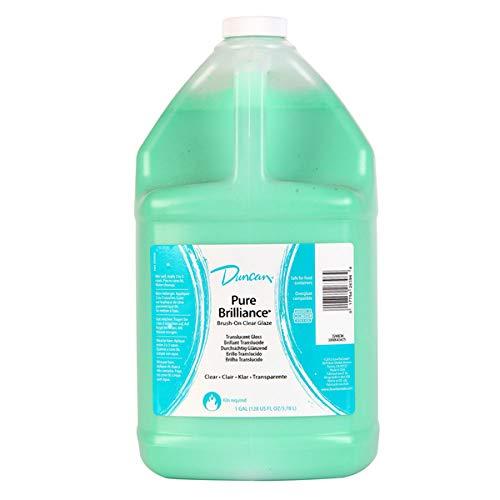 Duncan Pure Brilliance Clear Glaze brush-on glaze 1 gal. pour-spout bottle