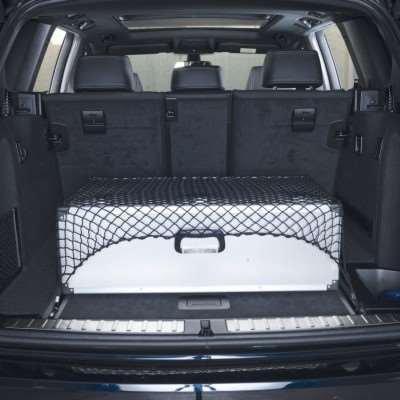HR filet 10324025 filet de filet de s/écurit/é permettant de coffre auto bords /élastiques compatible avec tous types de voitures 90 cm x 80 cm