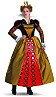 Disguise Women's Alice In Wonderland Movie Deluxe Queen Adult Costume