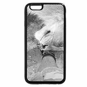 iPhone 6S Plus Case, iPhone 6 Plus Case (Black & White) - Rathu