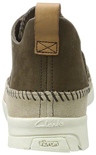 Nubuck Clarks Peat Grigio Sneaker Uomo Flex Trigenic Originals wYFrxw0