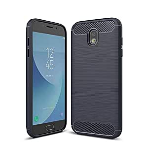 KuGi Samsung Galaxy J6 2018 case, Scratch Resistant Soft TPU case Cover for Samsung Galaxy J6 2018, Blue