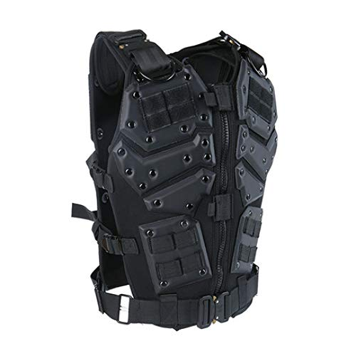 tical Vest, Army Air Gun Vest CS Special Police Role Play Vest Counter-Strike Game Vest Outdoor Camping Hunting Fishing Battle Training War Game ()