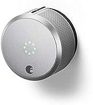 August- Cerradura inteligente profesional, tercera generación, funciona con Alexa, cerradura inteligente, Plat