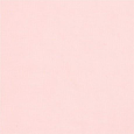 Tela algodón orgánico muselina bebé rosa claro liso de Cloud 9 tout petit: Amazon.es: Hogar
