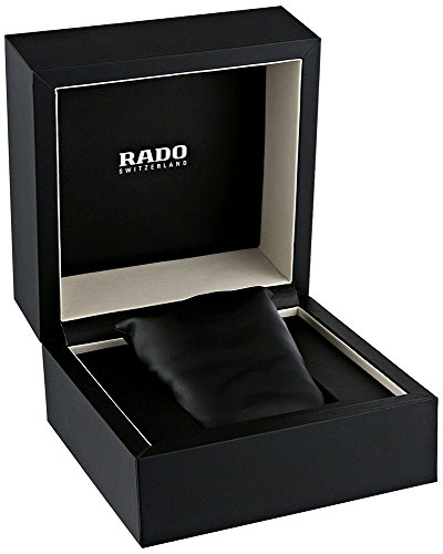 Rado Men's R20787752 Integral Black Dial Ceramic Watch