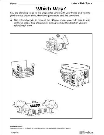 Newpath Learning Matematicas Problemas Resueltos Series Reproducible Libro De Trabajo Grado 4 5 Amazon Es Industria Empresas Y Ciencia