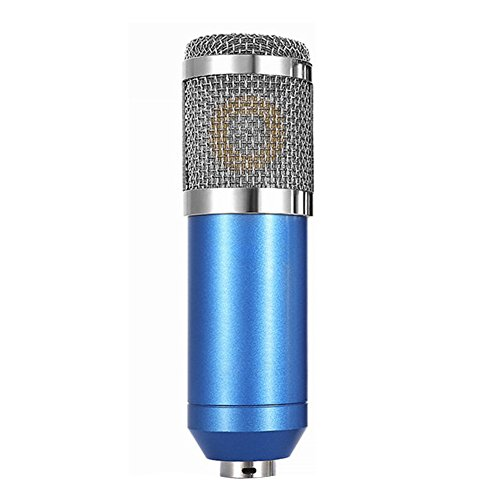 Andoer Condenser Microphone High Sensitivity Recording Studio Professional Recording Equipment Blue by Andoer-1