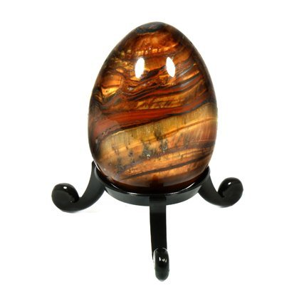 CrystalAge Standard Egg and Sphere Stand - Black - Egg not included