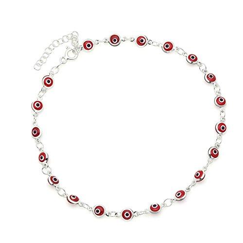 D Jewelry Red Guardian Eye...