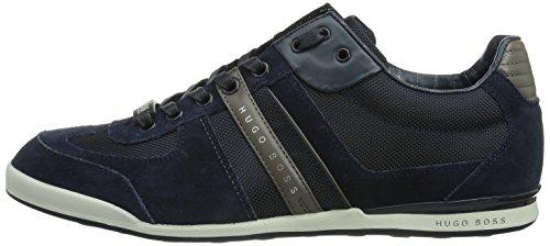 01 Uomo 460 Sneakers open Blu Boss Blue Green Akeen 10167168 tqggX7w