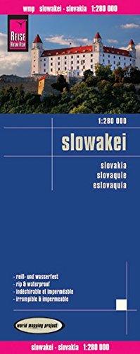 Reise Know-How Landkarte Slowakei (1:280.000): world mapping project