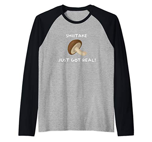 - Funny Cute Mushroom T shirt for Mycologist Fungus Teacher Raglan Baseball Tee
