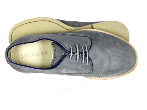 Samsonite, Scarpe stringate uomo Grigio (grigio)