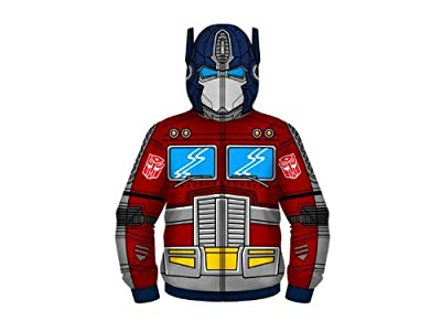 Transformers Optimus Prime Costume Zipped Hoodie