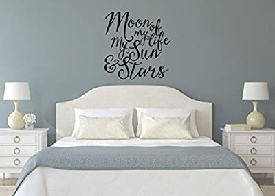 Game of Thrones Inspired Moon of My Life My Sun and Stars Wall Decal Sticker Ask a question