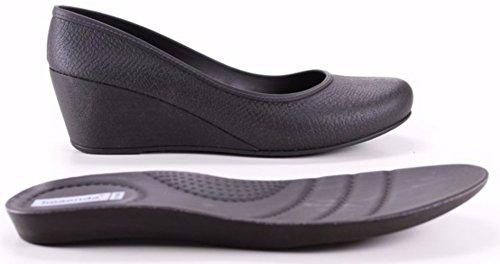 ff2b169762 Women's Wedge Heels - Comfortable - Caren (7, Black) - Buy Online in ...