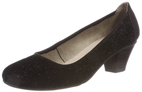 Black 22301 Pumps Damen Jana Schwarz wIqax5HU