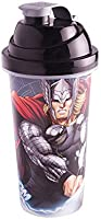 Shakeira 580 ml Avengers Thor, Plasútil, 008681-3770, Vermelho