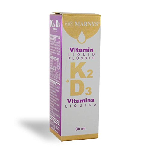 Amazon.com : Marnys K2 Vitamin D3 30Ml. by Marnys : Grocery & Gourmet Food