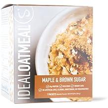 IdealOatmeal, Protein Oatmeal, 15g Protein, Fiber, 7 Packets (Maple & Brown Sugar)