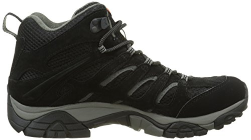 High Moab Mid Black Women's Boots Hiking Tex Merrell Rise Black Gore xAXa5wnEq