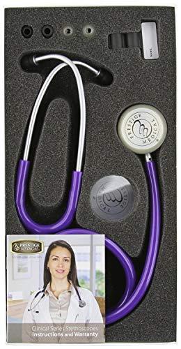 - Prestige Medical Clinical Lite Stethoscope,Purple 121